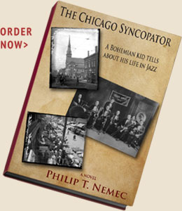 The Chicago Syncopator by Philip T Nemec - Book Cover